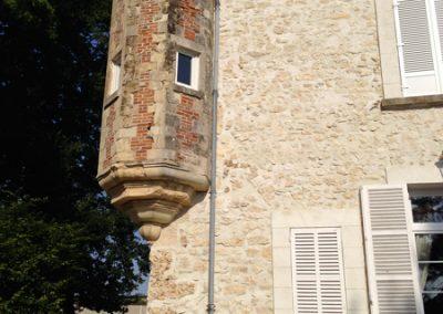 Tourelle du château de Cuisles